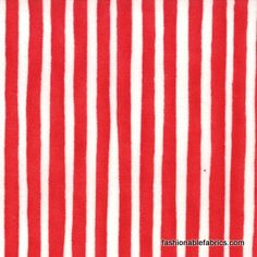 Fabric... Ready Set Snow Candy Stripes in Red by Moda Fabrics