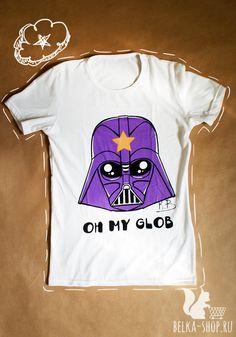 Lumpy Vader Shirt | Lumpy Space Princess Darth Vader tshirt | Oh my glob women man shirt by Belkashop on Etsy