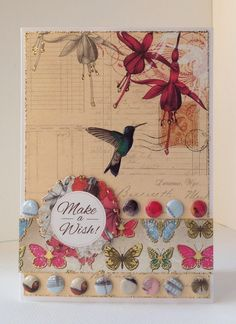 Craftwork Cards Blog Make A Wish, How To Make, Craftwork Cards, Rooster, Paradise, Bee, Card Making, Paper Crafts, Birds