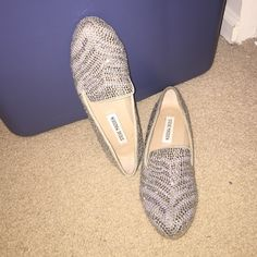 Steve Madden Conncord - Pewter Multi Size 6.5 Steve Madden Shoes Flats & Loafers