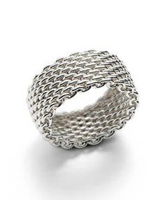Tiffany  Co Outlet Mesh Ring