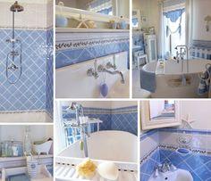 Po dlouhé době jedna koupelnová . . . | Mimibazar.cz Sink, Porcelain, Home Decor, Blue, Sink Tops, Vessel Sink, Porcelain Ceramics, Decoration Home, Room Decor