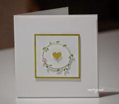 stampin with beemybear: Hochzeit, Einladungskarte, Stampin'up, Perfekter Tag