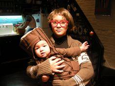 Log Lady Halloween costume. The. Best. Ever. #twinpeaks