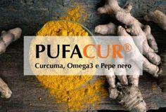 Pufacur. curcuma, piperina, omega3  curcumina e obesità   #curcuma, #piperina #omega3 Integratore alimentare a base di Omega 3 (EPA e DHA), #Curcuma, #Pepe nero, Vitamine A, C, #D3, E, #Zinco e #Selenio