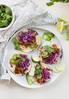 Korean BBQ Jackfruit Tacos 15 Minute Vegan Meals | @sweetpotatosoul