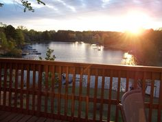 Sit on the huge deck and watch the sunset, and the fishermen!