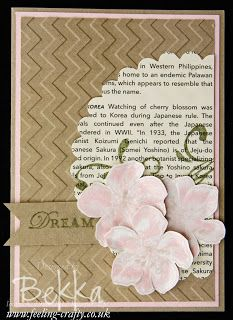 Everything Eleanor Dream Card by Stampin Up! Demonstrator Bekka Prideaux - check out her blog for more ideas