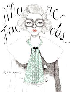 marc jacobs ilustration - Buscar con Google