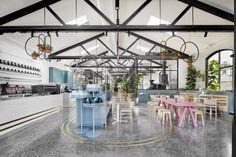 Au 79 Australia Restaurant and Bar Design Awards 2018 diariodesign Restaurant Design, Restaurant Bar, Botanical Interior, Cafe Pictures, Mim Design, Restaurants, Modern Cafe, Art Deco, Art Nouveau