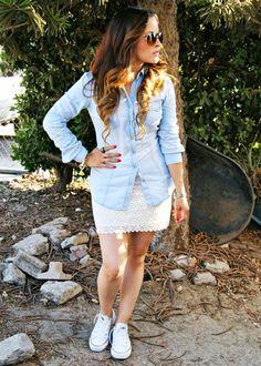 Crochet Skirt summer outfit