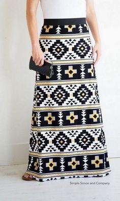 Как сшить макси-юбку: выкройки и МК   Дама