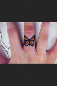 Cutest butterfly tattoo I've ever seen