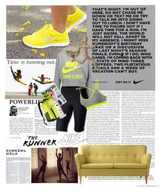 """50 minutes on the elliptical"" by lseed87 ❤ liked on Polyvore"