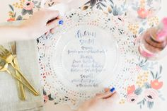 Photography : Ruth Eileen Photography Read More on SMP: http://www.stylemepretty.com/living/2016/05/23/inspiration-for-the-prettiest-floral-bridal-shower-with-chinet/