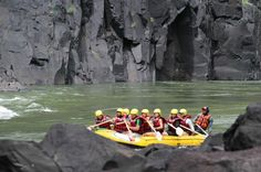 White water rafting in the Zambezi River with Safari Par Excellence -- Adventure Travel with Acacia Africa -- Overland Safaris & Tours Water Sports Activities, Boat Tours, Acacia, Rafting, Canoe, Kayaking, Adventure Travel, Safari, River