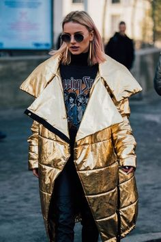 Paris Fashion Week Men's Street Style | British Vogue Pinterest: KarinaCamerino