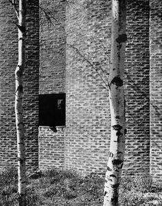 Sigurd Lewerentz. Church of St,Mark, Björkhagen,1956.