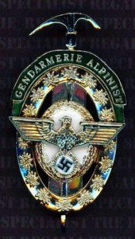 Police Alpine Expert badge