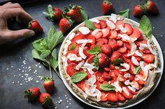 Erdbeer Raw Cake