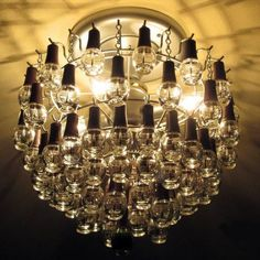Green Light: The Chandelier Made From Recycled Nail Polish Bottles