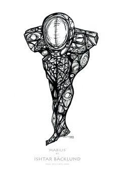 Ishtar Backlund variation on figure - more challenging pose