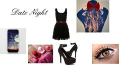 """Date Night"" by caitlynroseofficial ❤ liked on Polyvore"