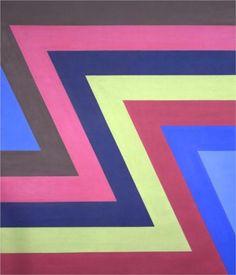 Blue Green and Violet - Howard Mehring