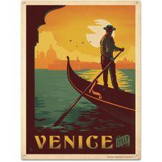 Venice Metal Sign http://www.retroplanet.com/PROD/42325