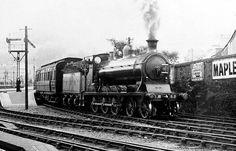 Caledonian Railway 'McIntosh' 55 class  4-6-0 Steam Railway, Train Art, Uk Images, British Rail, Train Engines, Steam Engine, Steam Locomotive, Vintage Photos, Diesel