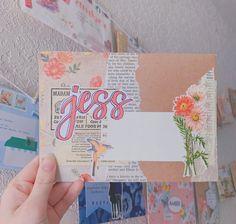 Pen Pal Letters, Cute Letters, Bullet Journal Layout, Bullet Journal Inspiration, Aesthetic Letters, Snail Mail Pen Pals, Mail Art Envelopes, Notebook Doodles, Drawing Journal