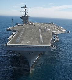 USS Carl Vinson underway in the Pacific.