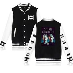 Marcus & Martinus Winter Baseball Jacket Fashion Casual Winter/Autumn Outwear Warm Jacket Plus Size Clothes Oversized Coat, Kpop Outfits, Jacket Style, Hoodies, Sweatshirts, T Shirts For Women, Pullover, Clothes, Top Gifts
