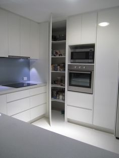 Do you want to have an IKEA kitchen design for your home? Every kitchen should have a cupboard for food storage or cooking utensils. So also with IKEA kitchen design. Here are 70 IKEA Kitchen Design Ideas in our opinion. Hopefully inspired and enjoy! Corner Pantry Cabinet, Kitchen Pantry Cabinets, Kitchen Cabinet Remodel, Modern Kitchen Cabinets, Kitchen Cabinet Design, Kitchen Flooring, Interior Design Kitchen, Cabinet Storage, Kitchen Modern