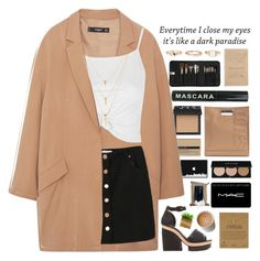 """""""Untitled #2157"""" by tacoxcat ❤ liked on Polyvore featuring Sephora Collection, NARS Cosmetics, 3.1 Phillip Lim, Aesop, Dogeared, MANGO, Topshop, Pierre Hardy, MAC Cosmetics and Korres"""