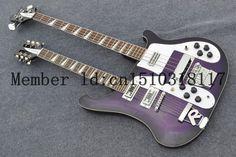 Pas cher 2014 l'arrivée de nouveaux + livraison gratuite + Richenbacker personnalisé guitare électrique, Transparent violet Richenbacker guitare électrique, Acheter  Guitare de qualité directement des fournisseurs de Chine:              Si vous avez besoin plus d'images de détail, s'il vous plaît contactez-moi ou laissez-moi un messa