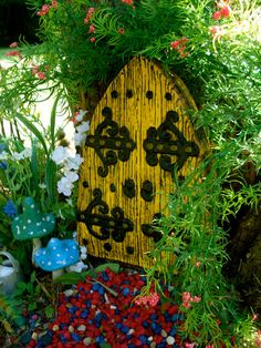 Hey, I found this really awesome Etsy listing at https://www.etsy.com/listing/93058014/enchanted-fairy-door-fairy-garden-door