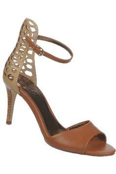 beef80f24633 Carlos Santana Tania Shoes in Natural   Cognac Carlos Santana