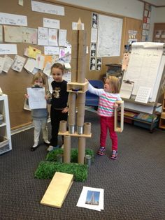 Wonders in Kindergarten: An Inquiry on Towers: Building on Children's Interests Kindergarten Inquiry, Inquiry Based Learning, Project Based Learning, Kindergarten Reading, Measurement Kindergarten, Kindergarten Addition, Science Projects For Preschoolers, Preschool Science, Preschool Ideas