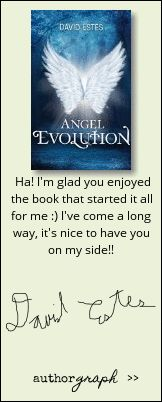 """Authorgraph from David Estes for """"Angel Evolution"""""""