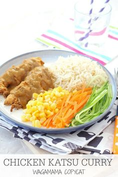 Make this Wagamama favourite at home! Chicken Katsu Curry, super mild and suitable for kids! | My Fussy Eater blog