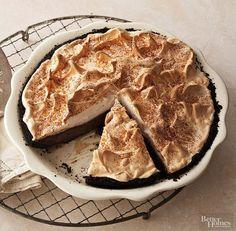 Fudge Cream Pie – Way Cooks