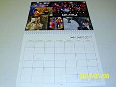 NEW 2017 SMALLVILLE cast Calendar Tom Welling Michael Rosenbaum Justin Hartley