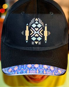 af11eced0 Native American Indian Tribal Pattern Baseball Cap Hat Men's Women's  Fashion Ethnic Style Geometric Colors