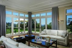Enjoy unobstructed panoramic views of the ocean and the La Jolla Country Club golf course in this lavish 7,100 SqFt estate!