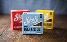 Skoff's Handheld Pie Packaging Shows Off a Tasty Design #packaging trendhunter.com