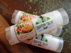 WILD CHERRY PIE Lip Balm, Rose Clay, Natural, Yummy, Handmade, All Natural, Highly Moisturizing by thecharmingfrog on Etsy