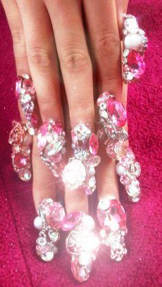 extreme nail bling