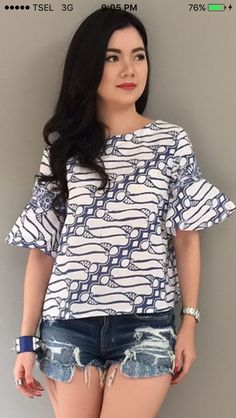 Batik Blazer, Blouse Batik, Batik Dress, Batik Fashion, Hijab Fashion, Fashion Line, Asian Fashion, Beautiful Outfits, Cool Outfits