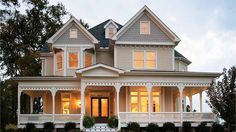 Home Plan HOMEPW11706 - 2772 Square Foot, 4 Bedroom 3 Bathroom Victorian Home with 2 Garage Bays | Homeplans.com